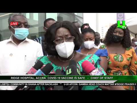 Ridge Hospital, Accra : Covid-19 Vaccine Is Safe   -   Chief Of Staff