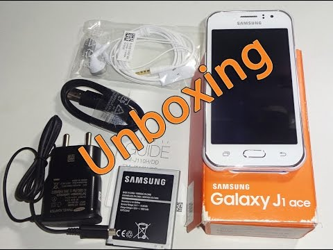 Samsung Galaxy J1 Ace 4G Unboxing