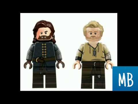 КАСТОМНЫЕ LEGO МИНИФИГУРКИ ИГРА ПРЕСТОЛОВ/LEGO GAME OF THRONES LEGO VS MOVIE