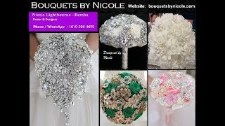 DIY Brooch Bouquet  Kits L Easy Wedding Crafts Projects