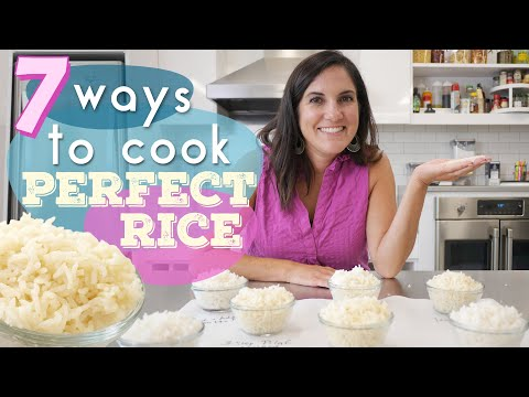 We Tried 7 Ways to Cook Perfect Rice | The Most Controversial Way to Cook Rice?