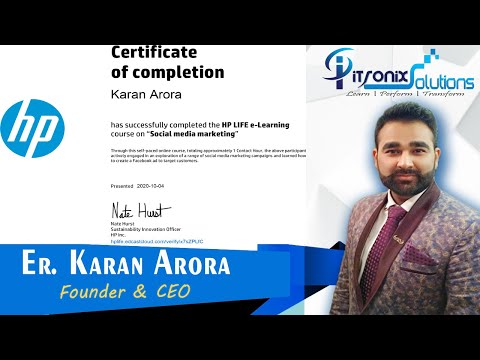HP Free Online Courses and Certification - Hewlett-Packard 30+ ...