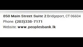 Peoples Bank Corporate Office Contact Information