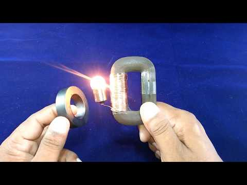How to Make DIY Electricity Free Energy Generator in Copper Wire And Magnet Science Project
