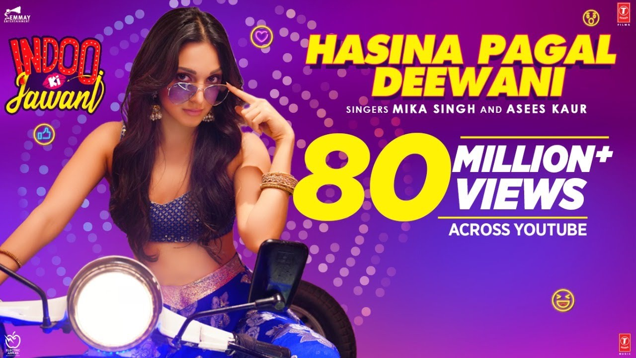 Hasina Pagal Deewani Lyrics in English