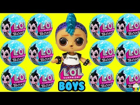 LOL Surprise BOY SERIES New Boy Dolls + Boys Basketball Game