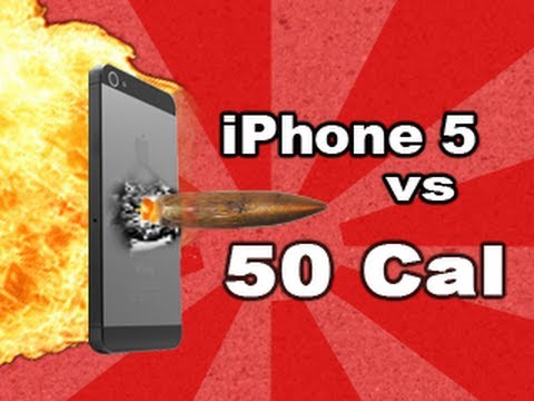 Watch The iPhone 5 Get Shot With A Sniper Rifle
