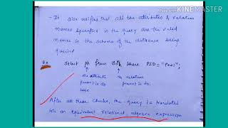 Query processing - lecture129/DBMS