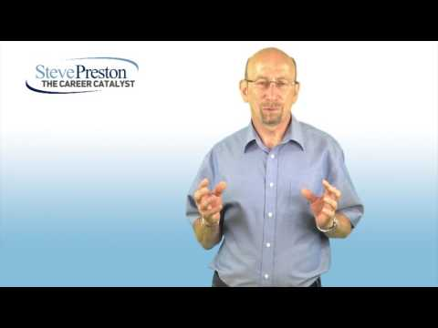 Introduction to Steve Preston The Career Catalyst