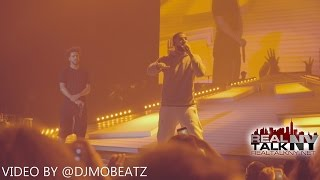 "Drake Performs A New Verse & ""Back To Back"" At J. Cole's ""Forest Hills Drive Tour"""