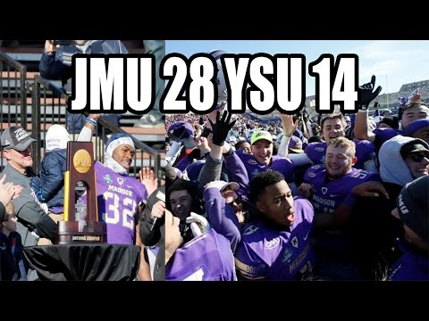 James Madison Beats Youngstown State In The FCS Championship