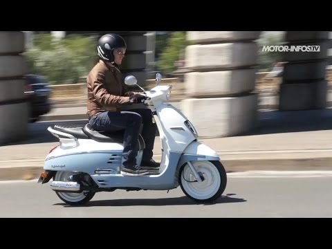 Essai scooter Peugeot Django 50
