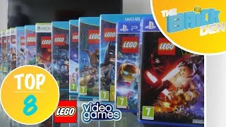 Top 8: LEGO VIDEO GAMES!