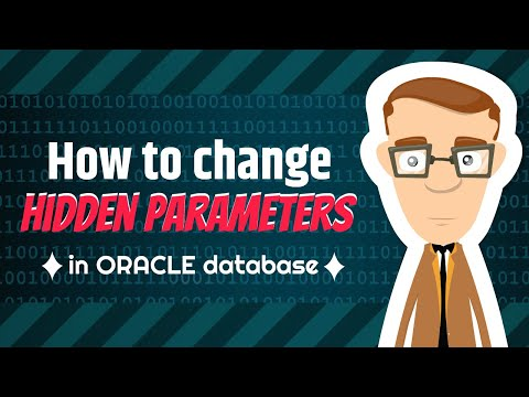 how to change the hidden parameter in oracle