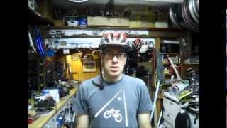 preview picture of video 'Rollers (no hands - one leg) at Cycle Path Bicycles of Athens Ohio'