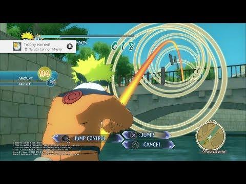 Naruto Ultimate Ninja Storm - Naruto Cannon Master Trophy