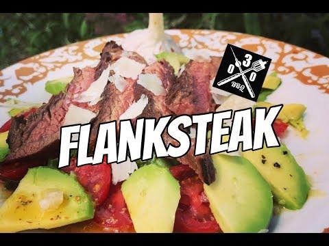 Flank Steak vom Lotusgrill - Clone + Avocado Tomaten Salat - 030 BBQ