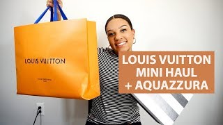 LOUIS VUITTON GRACEFUL PM REVIEW + CLEMENCE WALLET  | LOUIS VUITTON, AQUAZZURA