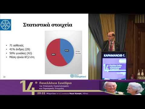 Καραμανώφ Γ. - Συχνότητα εμφάνισης οξέος οργανικού ψυχοσυνδρόμου (Delirium) σε μια γηριατρική κλινική