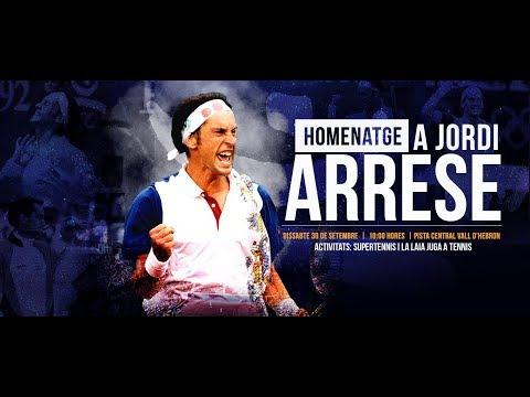 Homenatge a Jordi Arrese – FCT