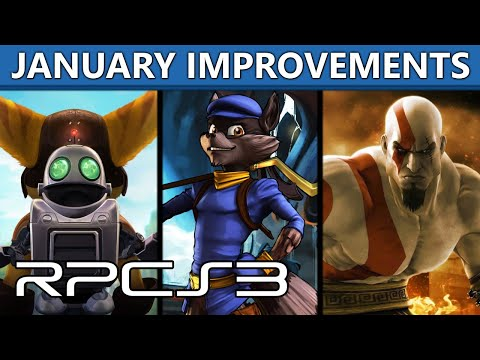 RPCS3 - Improvements in Sly 4, GoW 3, Ratchet & Clank: ToD & QFB and more!