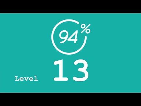 94 Prozent (94%) - Level 13 - Transportmittel - Lösung