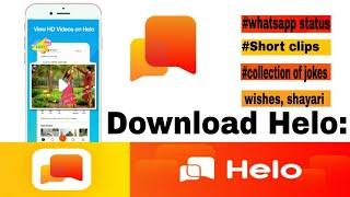 helo app status download malayalam - TH-Clip