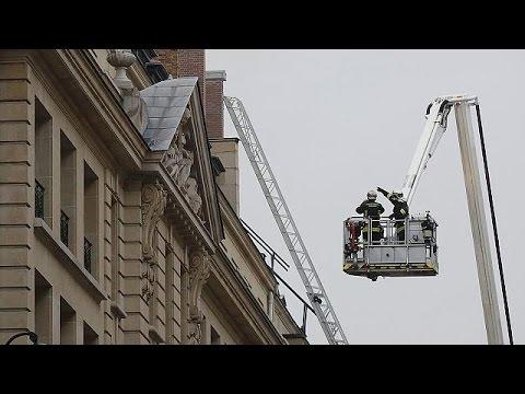Incendio en el hotel Ritz de Paris