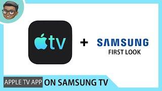 Apple Tv app on Samsung RU7400