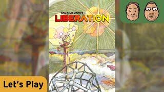 Liberation - Brettspiel - Let´s Play - mit Alex und Peat