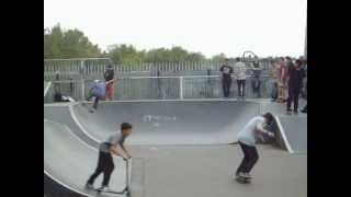 preview picture of video 'bracknell skatepark competition'