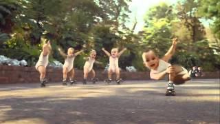 Roller Skating Babies