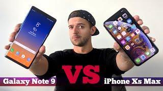 Сравнение Galaxy Note 9 vs iPhone Xs Max: ЧТО выбрать?
