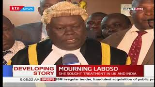 Bomet county mourns the death of Governor Joyce Laboso