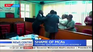 Taita Taveta MCA's exchange fists over People's Assembly motion