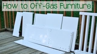 Green Nursery: How To Off-Gas Furniture