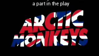 Arctic Monkeys-You Probably Couldn't See Me lyrics