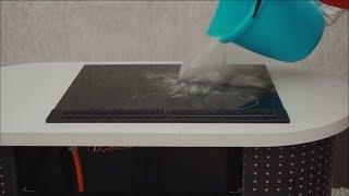 Solgaz - test wytrzymałości Ceramicznej Płyty Gazowej (crash test)