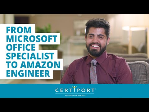 From Microsoft Office Specialist to Amazon Engineer - YouTube