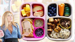 EASY VEGAN LUNCH IDEAS...Healthy Meal Prep BENTO BOXES