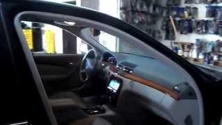 custom car audio stereo ventura Mercedes benz S430 2001 AVIC-X150BHS