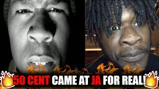 50 Got Ja Outta Here! | 50 Cent - Your Life's on the Line (Ja Rule Diss) REACTION!