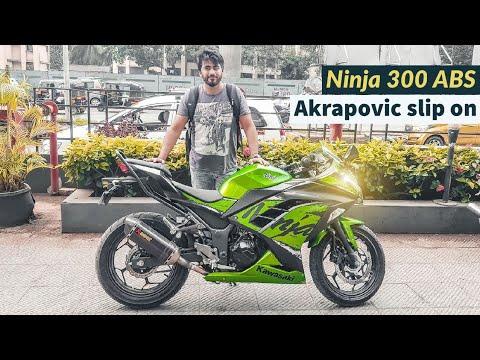 2019 Kawasaki Ninja 300 Abs Review Akrapovic Slip On Exhaust