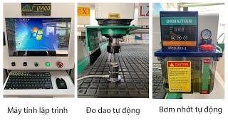 MÁY CNC ROUTER 1 ĐẦU RT-1325V. Bàn giao tại Nghệ An.
