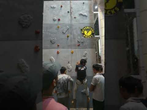 Moveable Climbing  Wall