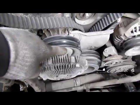 Фото к видео: Замена ремня ГРМ Патрол Y61