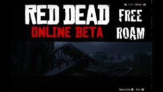 Red Dead Redemption 2: Online Beta Free Roaming