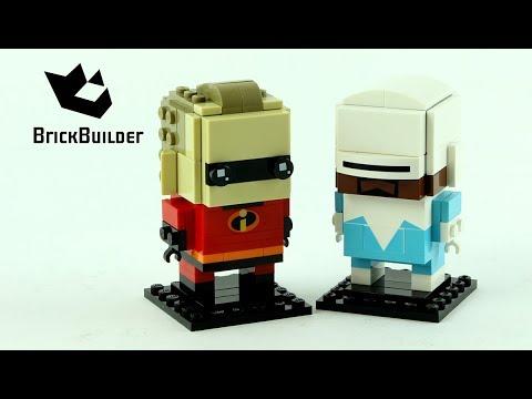 Vidéo LEGO BrickHeadz 41613 : M. Indestructible et Frozone (Les indestructibles 2)
