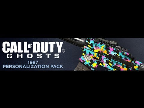 Call of Duty Ghosts Personalization Pack (1987)