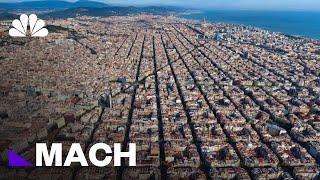 Inside Barcelona's Superblocks, A Future Where Pedestrians Rule Car-Free Streets | Mach | NBC News